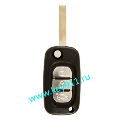 Корпус выкидного ключа Рено (Renault) VA2   3 кнопки
