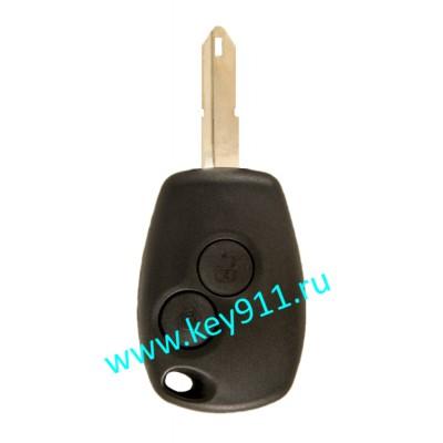 Корпус ключа Рено (Renault) NE73 | 2 кнопки
