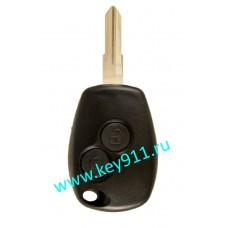Корпус ключа Рено (Renault) VAC102 | 2 кнопки