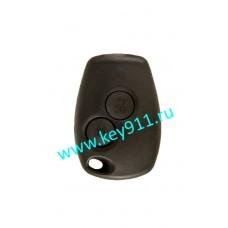 Корпус ключа Рено (Renault) 2 кнопки | без лезвия