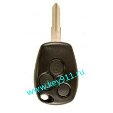 Корпус ключа Рено (Renault) VAC102   3 кнопки