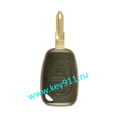 Корпус ключа Рено (Renault) NE73   2 кнопки