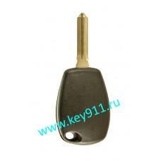 Заготовка ключа Рено (Renault) | HU179 | под чип