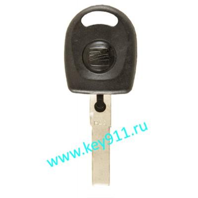 Заготовка ключа Сеат (Seat)   HU66   под чип