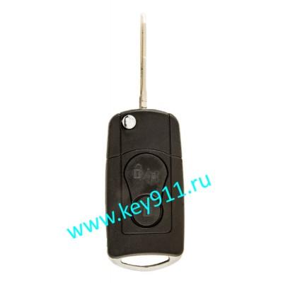 Корпус выкидного ключа СcангЙонг (SsangYong) | HUN10 | 2 кнопки