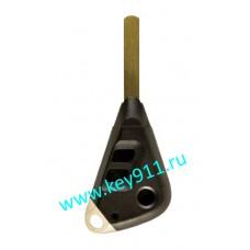 Корпус ключа Субару (Subaru) | DAT17 | 3 кнопки