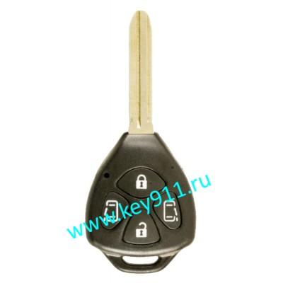 Корпус ключа Тойота (Toyota) | TOY43 | 4 кнопки