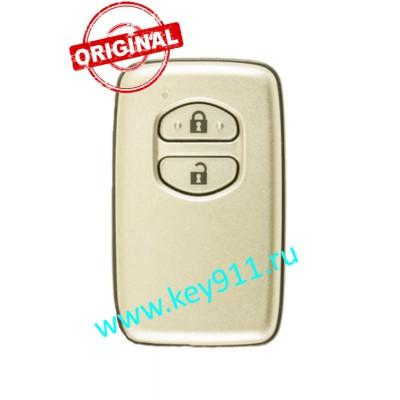 Смарт ключ Тойота Ленд Крузер 200 (Toyota Land Cruiser 200) | 2 кнопки | MDL B53EA | Page1 = D4 | 433MHz Европа