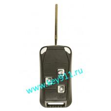 Корпус выкидного ключа Тойота (Toyota) | TOY43 | 3 кнопки