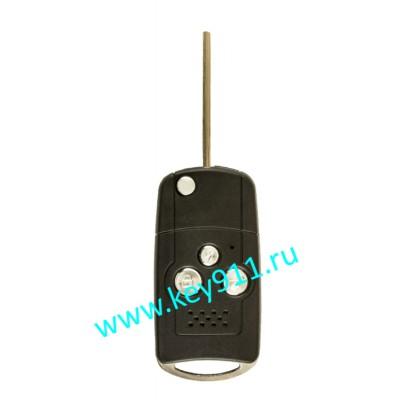 Корпус выкидного ключа Тойота (Toyota)   TOY43   3 кнопки