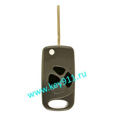 Корпус выкидного ключа Тойота (Toyota) | TOY48 | 3 кнопки