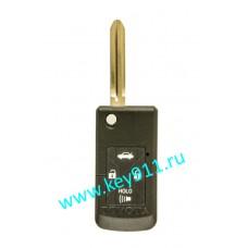 Корпус выкидного ключа Тойота (Toyota) | TOY43 | 4 кнопки