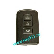 Смарт ключ для Тойота Рав4 (Toyota Rav4) | 3 кнопки | MDL BA2EQ | Page1 = 88 | 433MHz Европа
