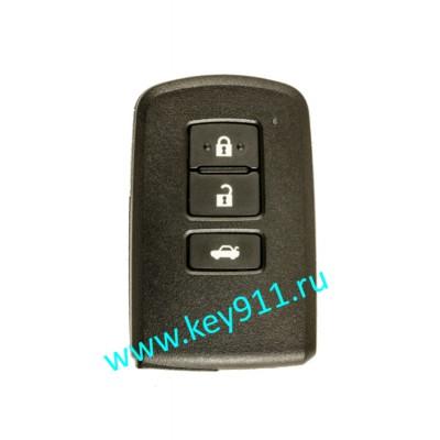 Смарт ключ для Тойота Камри, Королла (Toyota Camry, Corolla) | 3 кнопки | MDL BA2EQ | Page1 = 88 | 433MHz Европа
