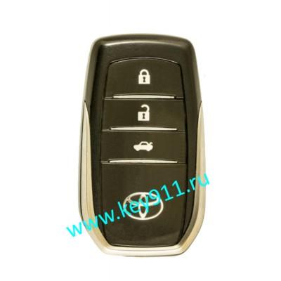 Смарт ключ для Тойота Камри, Камри/Гибрид (Toyota Camry, Camry/Hybrid ) | 3 кнопки | MDL BJ1EW | Page1 = 88 | 433.92MHz Russia | 09.2014 - 04.2018