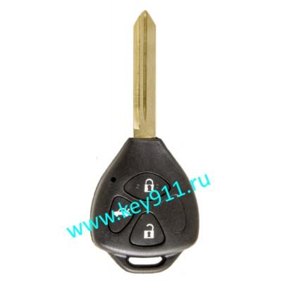 Корпус ключа Тойота (Toyota) | TOY47 | 3 кнопки