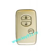 Смарт ключ для Тойота Ленд Крузер Прадо (Toyota Land Cruiser Prado) | 3 кнопки | MDL B74EA| Page1 = 98 | 433MHz Европа
