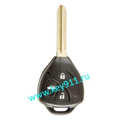 Ключ для Тойота Камри (Toyota Camry) | TOY43 | 4D67 | 433MHz Европа | 3 кнопки