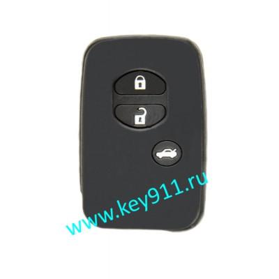 Силиконовый чехол для смарт ключа Тойота (Toyota)   3 кнопки