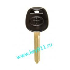 Заготовка ключа Тойота (Toyota) | TOY47 | под чип