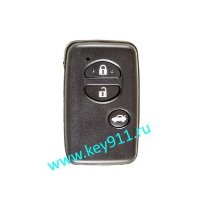 Корпус смарт ключа Тойота (Toyota) | 3 кнопки