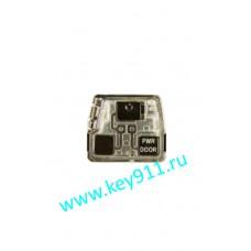 Корпус трансмиттера для ключа Лексус (Lexus) | 3 кнопки