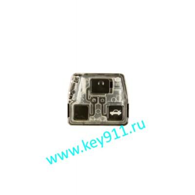 Корпус трансмиттера для ключа Тойота (Toyota) | 3 кнопки