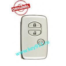 Смарт ключ Тойота Ленд Крузер 200 (Toyota Land Cruiser 200)   3 кнопки   MDL B77EA   Page1 = 98   433MHz Европа