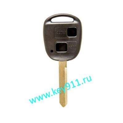 Корпус ключа Тойота (Toyota)   TOY47   2 кнопки