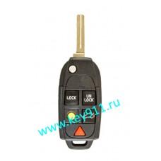 Корпус выкидного ключа Вольво (Volvo) | NE66 | 5 кнопок