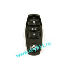 Корпус смарт ключа Фольксваген Туарег (Volkswagen Touareg) | 3 кнопки