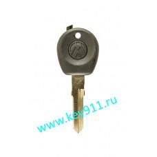 Заготовка ключа Фольксваген (Volkswagen) | HU70 | под чип