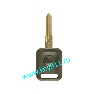 Заготовка ключа Фольксваген (Volkswagen) | HU49 | под чип