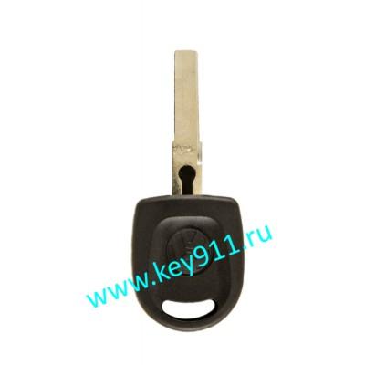 Заготовка ключа Фольксваген (Volkswagen) | HU66 | под чип